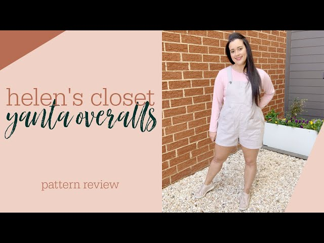 Helen's Closet Yanta Overalls Sewing Pattern Review
