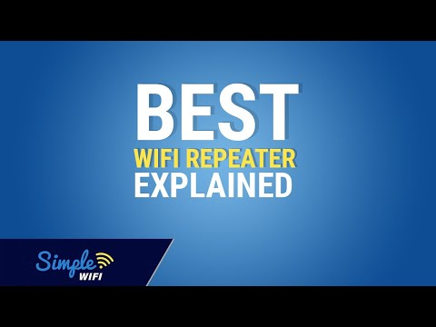 The best WiFi repeater kit - long distance repeater for 2.4GHz wireless on multiple devices!