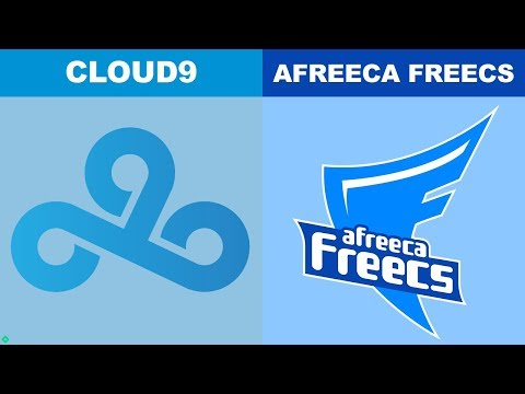 C9 vs Afreeca Game 1 - Worlds 2018 Quarterfinals - Cloud9 vs AFS G1