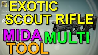 Destiny Exotic Scout Rifle Mida Multi-tool (loot Finding Gun)
