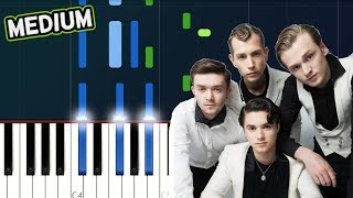 """Sigala & The Vamps - """"We Don't Care"""" Piano Tutorial"""