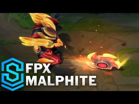 FPX Malphite Skin Spotlight - Pre-Release - League of Legends