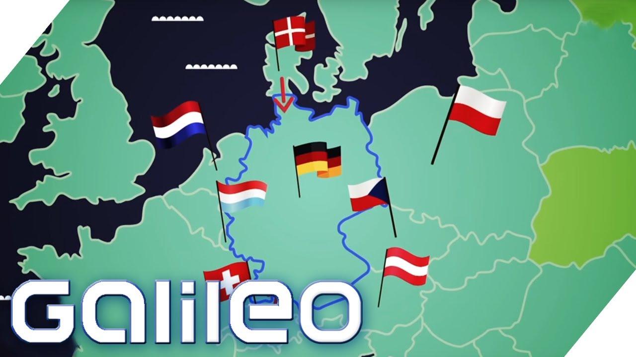 Grenzstädte als Shoppingparadiese | Galileo | ProSieben