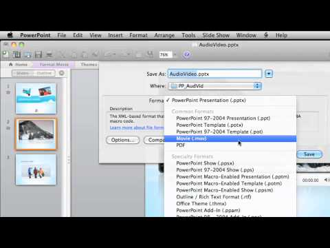how to download audio from youtube to powerpoint