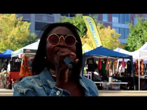 Montess performing at PAN AFRICAN FESTIVAL(PANAFEST) USA 2017