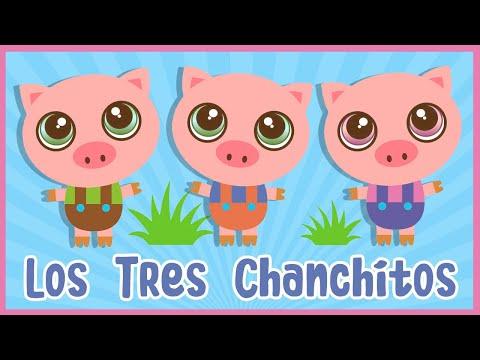 Los Tres Chanchitos - Canciones de la Granja