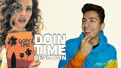 LANA DEL REY- DOIN TIME( AUDIO)|E2 reacts