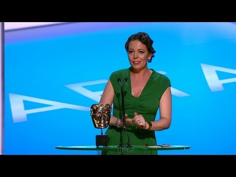 Olivia Colman wins Leading Actress Bafta  The British Academy Television Awards 2014  BBC One
