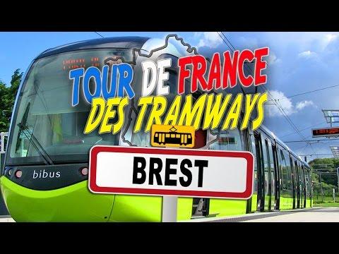 Tour De France Des Tramways : Brest - Chemins De Traverses