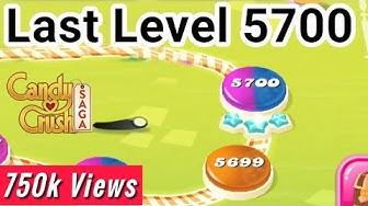 Candy crush last level 5700 || Candy crush last level  || Candy crush saga