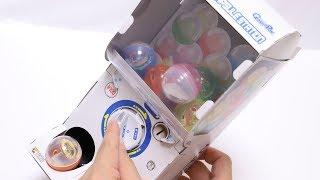 DIY Capsule Toy Machine Paper Craft