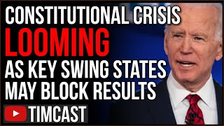 Constitutional CRISIS Looms As Key Swing States May BLOCK Biden, Trump Could Win Delegation Vote