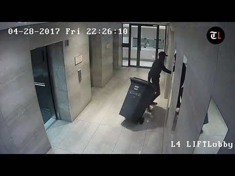 EXCLUSIVE: Chilling CCTV footage of Karabo Mokoena's killer moments before he disposes of her body