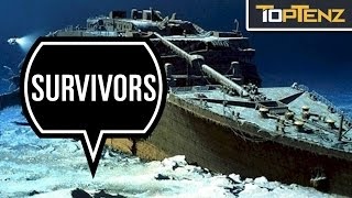 Top 10 INCREDIBLE STORIES of People Who SURVIVED the TITANIC