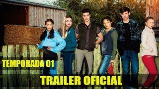 Zoe e RAVEN (Free Rein)   Trailer da temporada 01   Dublado (Brasil) [HD]