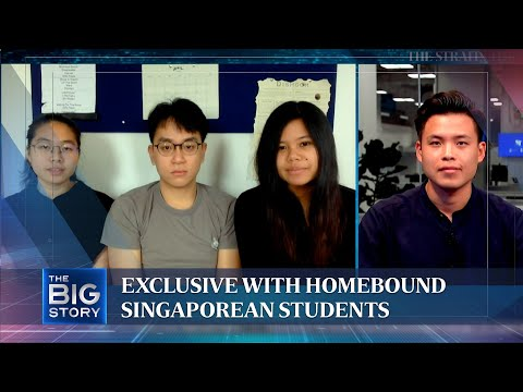 Exclusive with homebound Singaporean students in Manchester, UK | The Straits Times