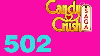 candy crush saga livello level 502