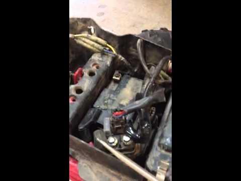 Yamaha raptor 250 starting problems - YouTube