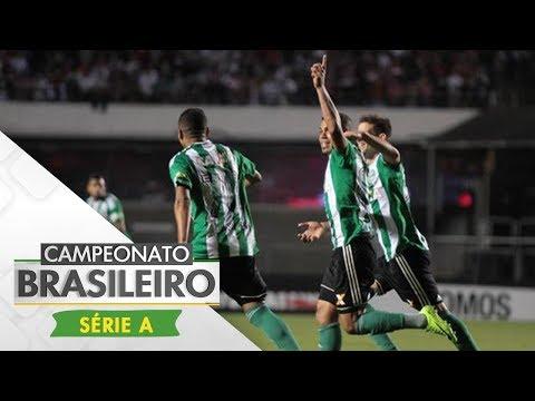 Melhores Momentos - Gols de São Paulo 1 x 2 Coritiba - Campeonato Brasileiro (03/08/2017)