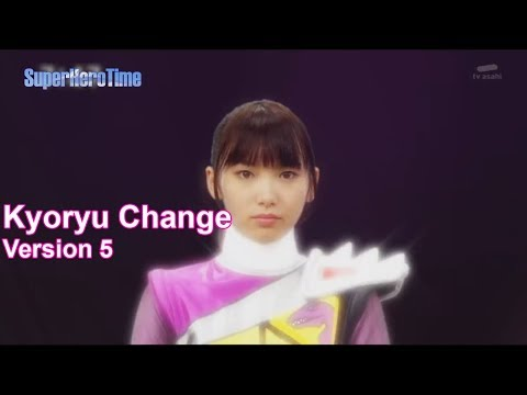 Kyoryu Change Brave In  Zyuden Sentai Kyoryuger Henshin Version 5 Ep 21 to 25