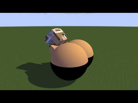 Minecraft Giantess Growth #2 + Breast Expansion