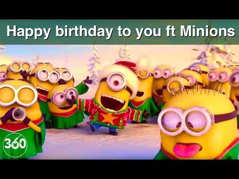 Happy birthday to you ft. Minions ∞ Tanti auguri a te
