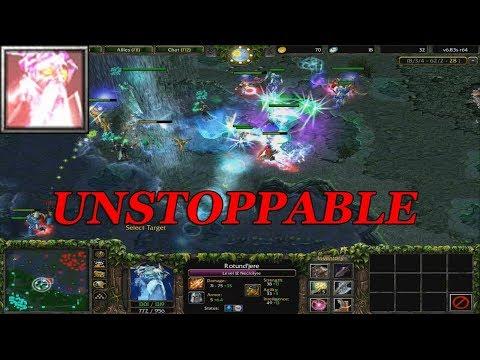 DOTA 1 - NECROLYTE UNSTOPPABLE GAMEPLAY | Warcraft 3 - Frozen Throne