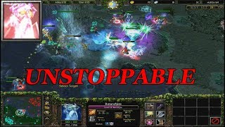 DOTA 1 - NECROLYTE UNSTOPPABLE GAMEPLAY | Warcraft 3 - Frozen Throne
