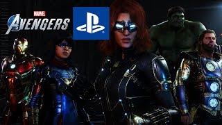 Marvel's Avengers Game | NEW PS4 Trailer & Skins Confirmed!