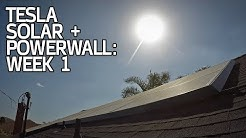 SYSTEM ACTIVATED! Tesla Solar + Powerwall Week 1