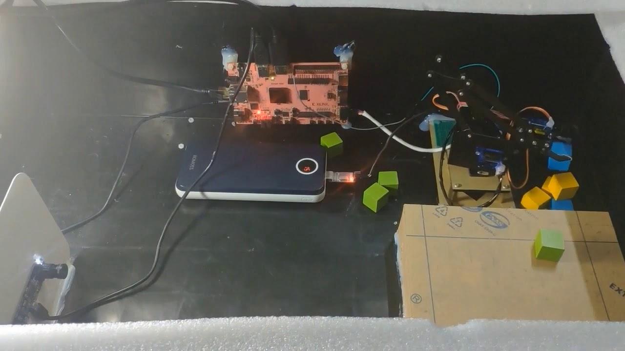Binocular machine vision system based on PYNQ-Xilinx OpenHW