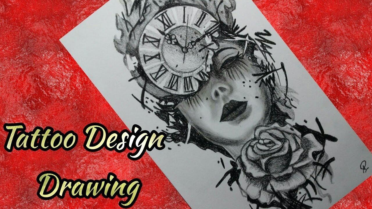 Tattoos design drawing pencil drawing amrit pun 2018