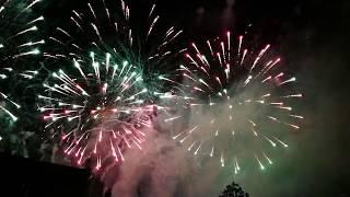 Pokaz sztucznych ogni - Dożynki Środa Wielkopolska 02.09.2017 || 720p HD