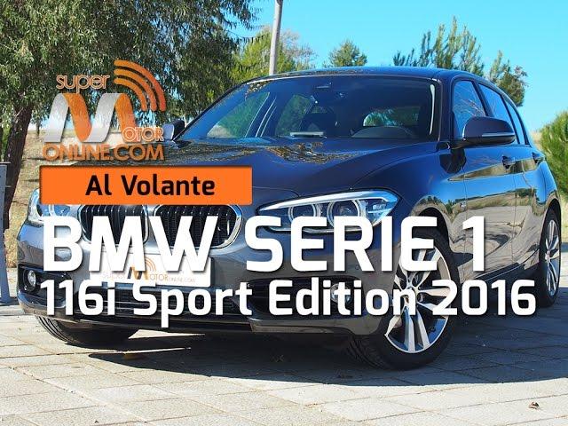 BMW 116i 2016 / Al volante / Prueba dinámica / Review / Supermotoronline.com