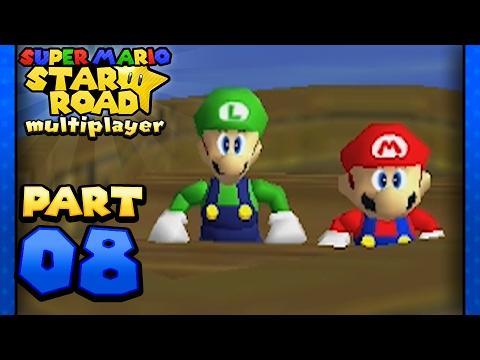 Download Super Mario Star Road: Multiplayer - Part 8: MY LEG! (2 Player)