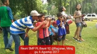 Reuni SMP Pangudi Luhur Bayat angkatan 92, Ragunan, Minggu, 6 Agustus 2017 [SMP PL Bayat]