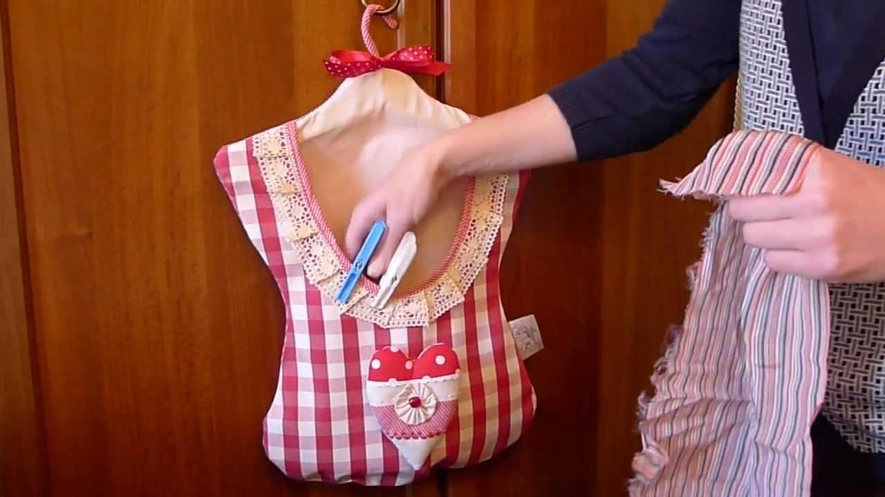 Peg bag by Angelus Beatus - YouTube