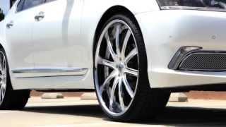 lexani wheels lexus ls 460   24 lf 709