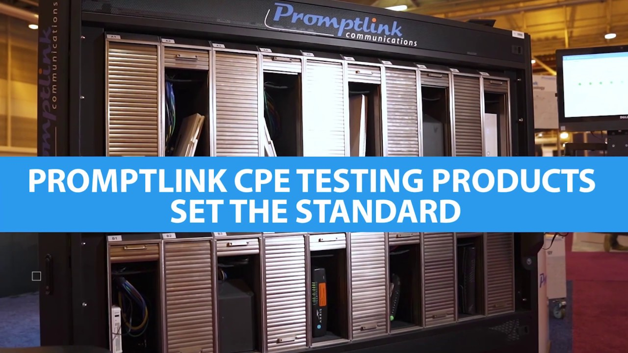 Promplink Communications Demonstrates Testing Solutions at Cable-Tec Expo 2019