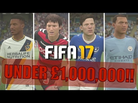25 AMAZING PLAYERS FOR UNDER 1 MILLION | FIFA 17 Career Mode