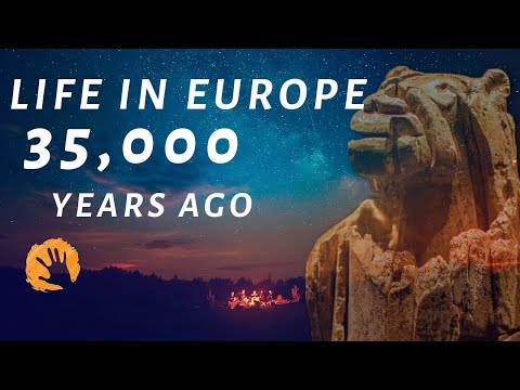 Life In Paleolithic Europe (35,000 Years Ago)