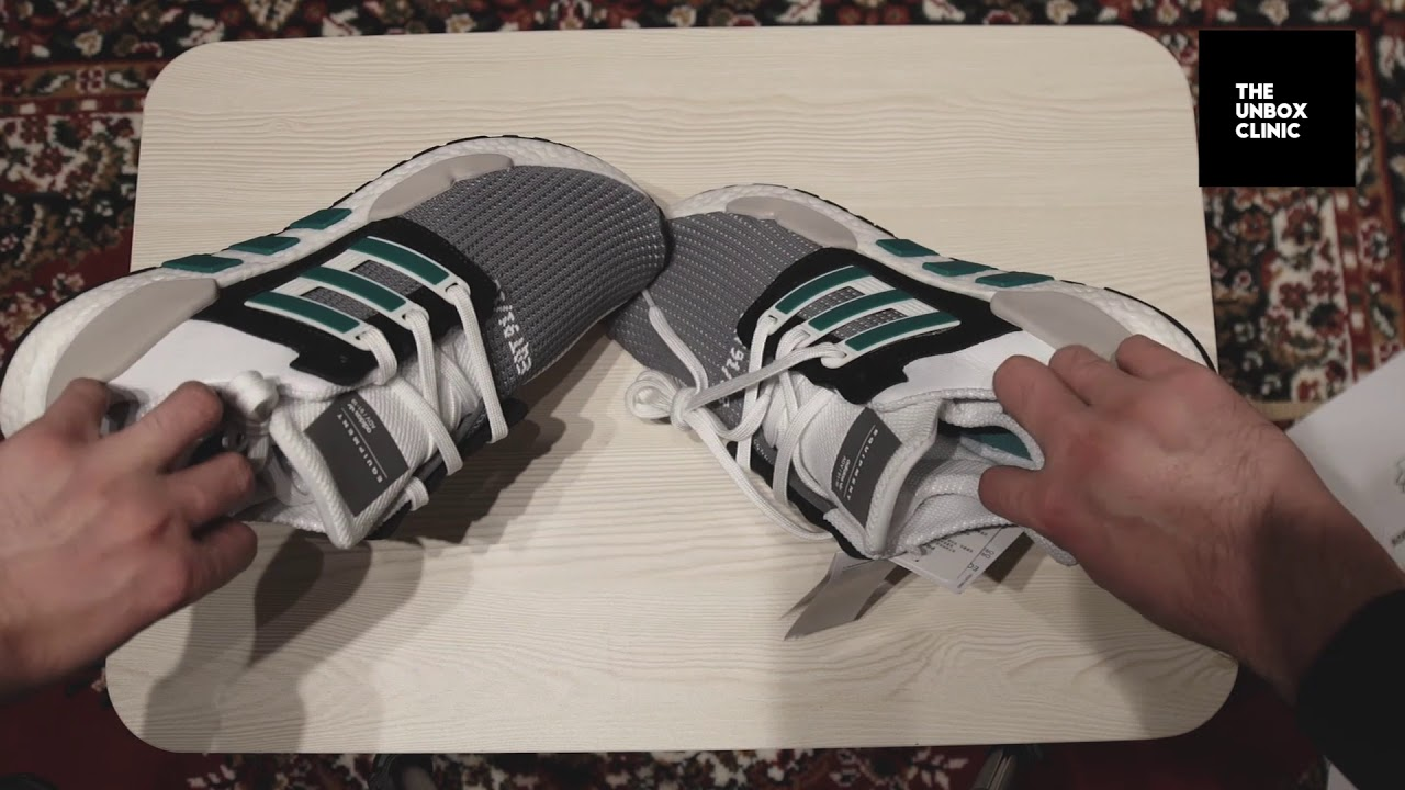 the latest baf18 df7ac ADIDAS EQT 9118 UNBOXING  ON FOOT  REVIEW
