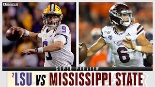 No.2 LSU vs Mississippi State | SUPER PREVIEW | CBS Sports HQ