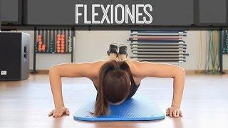 EJERCICIOS DE FLEXIONES
