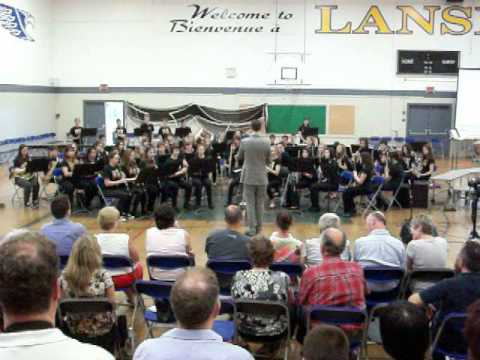 Lansdowne Middle School Gr 8 Concert Band 2013 - Hunger Games