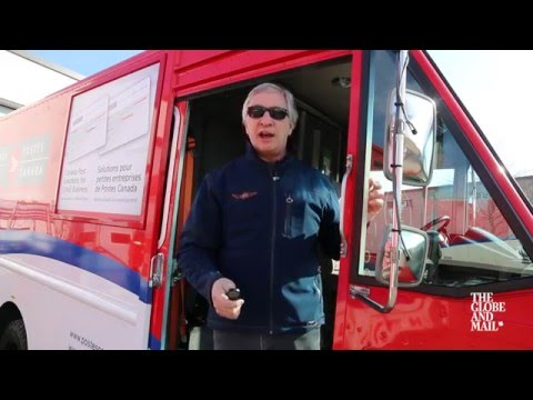 The Canada Post van is a powerhouse of a vehicle — just take a look inside