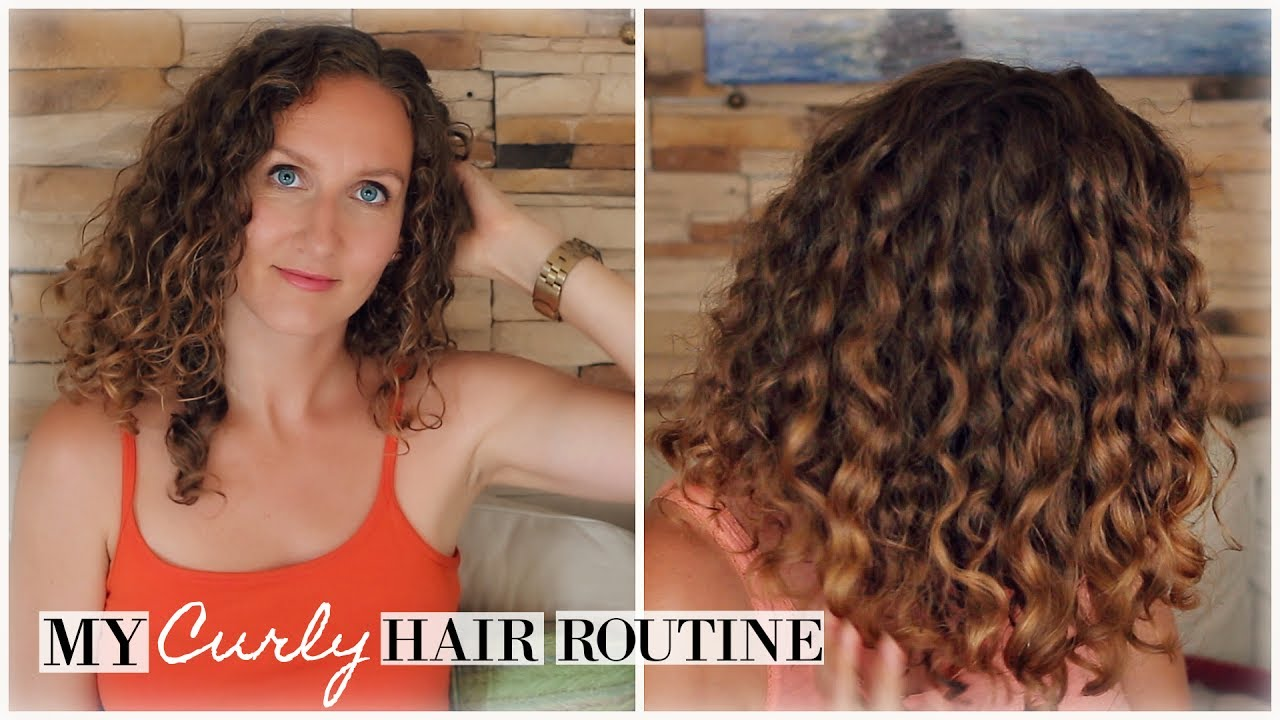 my hair is curly how can i style it my updated frizz proof curly hair routine 8169 | maxresdefault