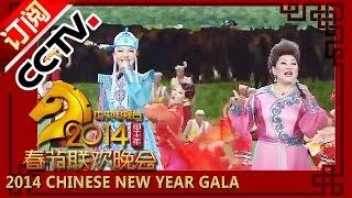 2014 央视春节联欢晚会 歌曲《套马杆》Urga  乌兰图雅 乌日娜| CCTV春晚