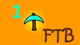 Repeat youtube video ماين كرافت : لحم بقر ببلاش  #1 | 1# Minecraft FTB : d7oomy999