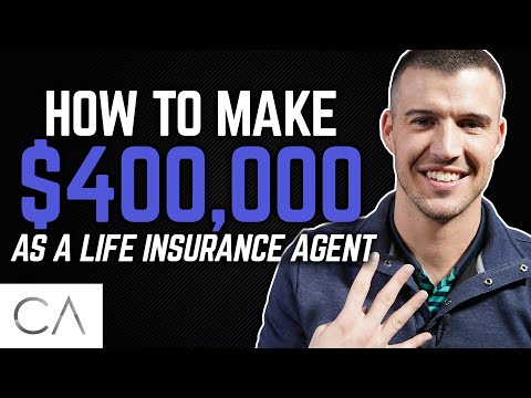 How To Make $400,000 As A Life Insurance Agent!